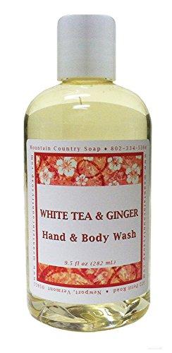 White Tea & Ginger Hand & Body Wash (Ginger Tea Scent)