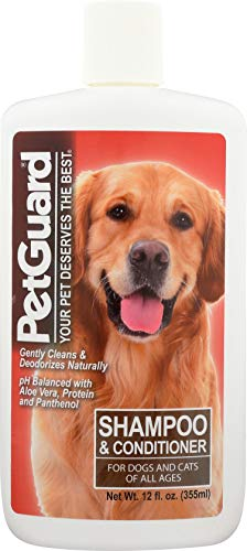 (PetGuard, Shampoo & Conditioner for Dogs and Cats, 12 oz)