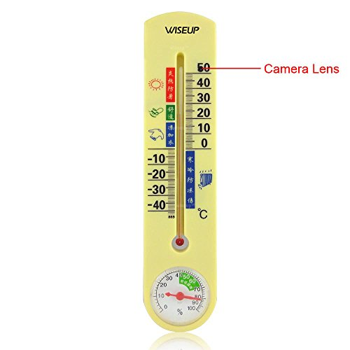 WiseupTM Thermometer Activated Security Camcorder