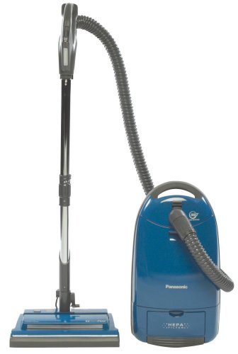 Panasonic MC-CG973 Power Head Canister Vacuum Cleaner, Dark Blue (Panasonic Vacuum Canister compare prices)