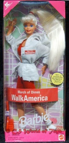 Barbie March of Dimes Walk America 1997 by Mattel