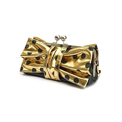 Lola Ramona , Damen Clutch gold gold