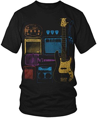 Price comparison product image Rock Band Tool Box,  Guitars,  Amp,  Speakers Men's T-shirt,  Amdesco,  Black 4XL