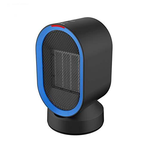 Hxibod Ventilador eléctrico portátil, Calefactor Personal con Viento Caliente y Natural para sobrecalentamiento y...