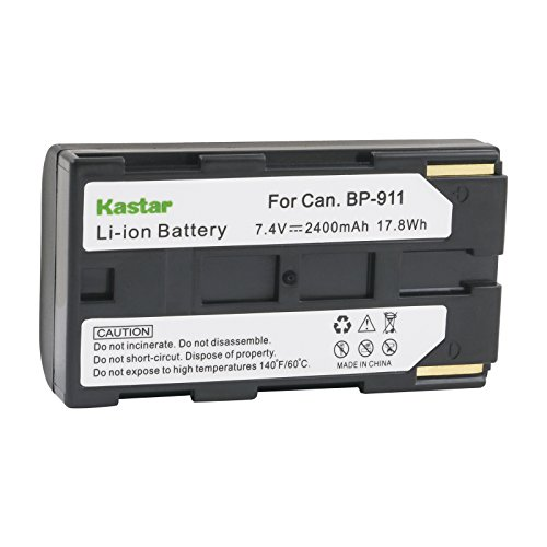Bp 915 Lithium Ion Battery - Kastar Camcorder Battery Replacement for Canon BP-911, BP-911K, BP-914, BP-915, BP-925, BP-930, BP-935, BP-945, BP-950