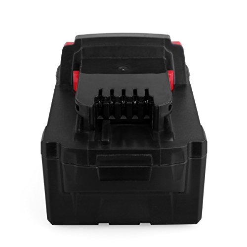 Biswaye 2 Pack 18V 5.0Ah Replacement Battery for Milwaukee 18V High Capacity Red Lithium Cordless Power Tools Battery M18 XC M18B 48-11-1820 48-11-1850 48-11-1828 by Biswaye (Image #7)