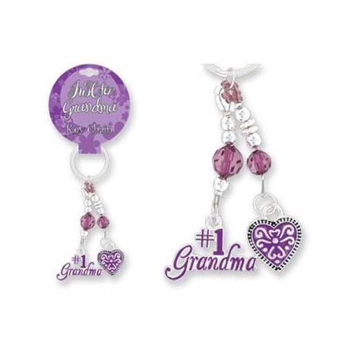 Grandma Purse Charm Dangling Key Chain/Mother's Day/Jewelry/Birthdays/Holidays