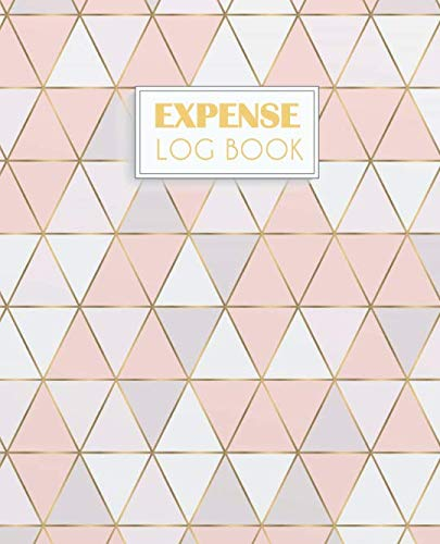 Expense Log Book: Daily Expenses Record Book | Money Planner Personal Organizer Journal Notebook 7.5×9.25 inches (Personal Finance Journal Income and Outgo Tracker Series)