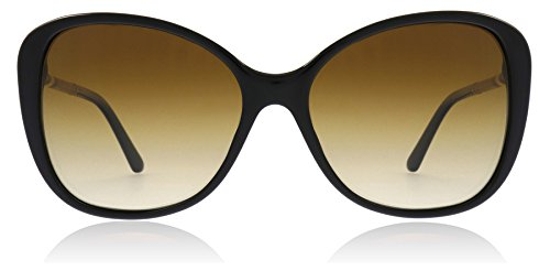 Burberry BE4235Q 3001T5 Black BE4235Q Butterfly Sunglasses Polarised Lens ()