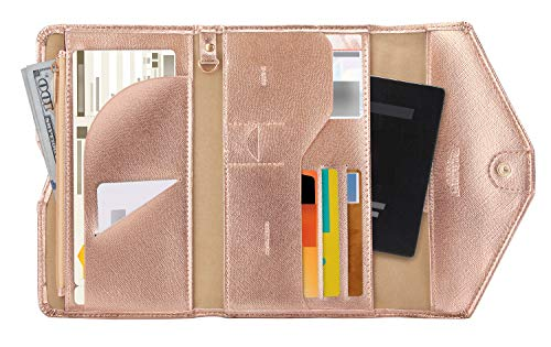 A fashionable Travel Passport Wallet to stay organized
