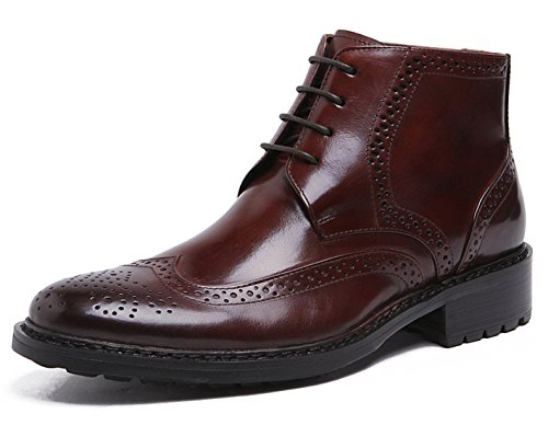 Boot by Red Wingtip Brogue Men's Heritage Santimon up Ankle Lace Leather Boots Oxford P7vnSqw