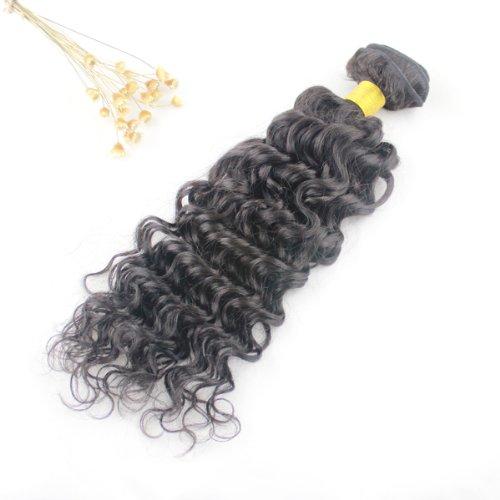 Kit Extenstion (Top quality virgin brazilian hair extenstions queen brazilian deep wave curly hair (14))