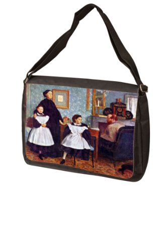 Portait of the Bellelli family By Edgar Degas Laptop Bag - Shoulder Bag - Messenger Bag