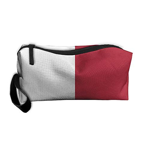 King Fong Texas Flag Makeup Bag for Men/Women, Travel Toiletry Bag, Oxford Pencil Case