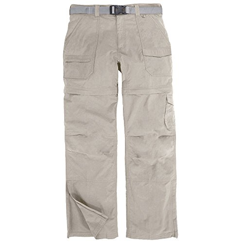 EMS Women's Camp Cargo Zip-Off Pant Fossil White 2/R (Camp Cargo Zip Off Pants)