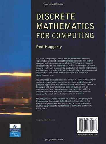 Discrete mathematics for computing rod haggarty pdf