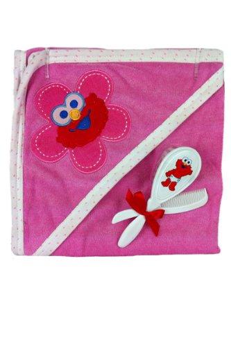 Sesame Street Hooded Towel Brush