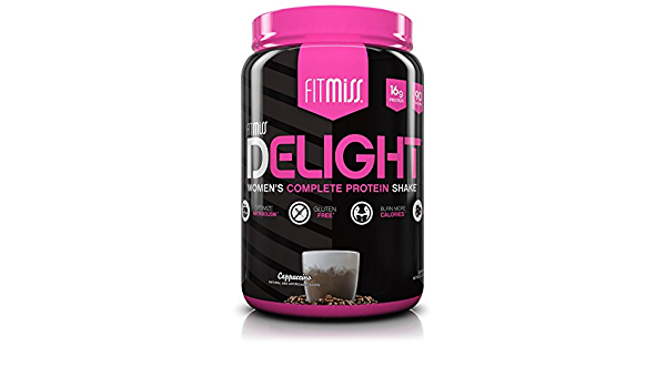Delight - Womens Complete Protein Shake Cappuccino 2 lbs