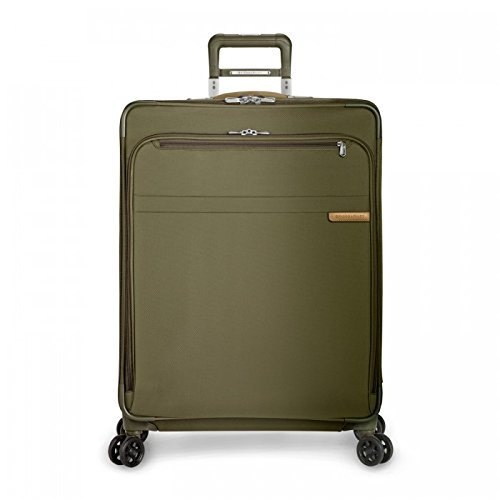 Briggs & Riley U128CXSP-7 Baseline Large Expandable Spinner - Olive by Briggs & Riley