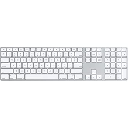 Amazon.com: Apple Aluminum Wired Keyboard MB110LL/A: Electronics