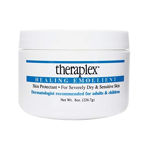 Theraplex Emollient - Theraplex Healing Emollient - Long Lasting Skin Barrier Protection for Severe Dry Skin, No Parabens or Preservatives, Noncomedogenic and Hypoallergenic - Dermatologist recommended - 8 oz