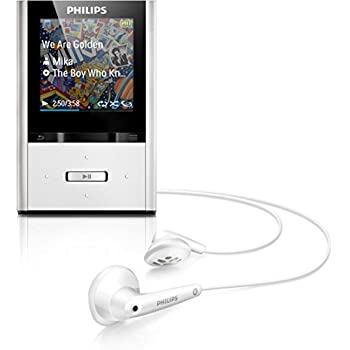 philips gogear vibe 8gb mp3 player aluminum electronics. Black Bedroom Furniture Sets. Home Design Ideas