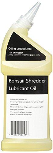 Bonsaii Paper Shredder Lubricant Oil for Home Tools, 12 oz. / 400ml by bonsaii (Image #3)