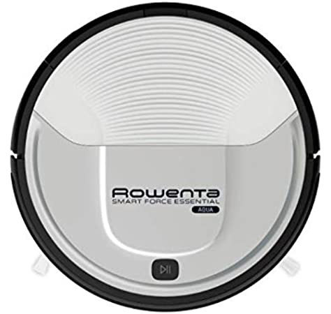 Rowenta Smart Force Essential Aqua RR6976 - Robot aspirador 2 en 1, aspira y friega, con sensores anticaida, bateria ion-litio de 150 minutos de autonomia (Reacondicionado): Amazon.es: Hogar
