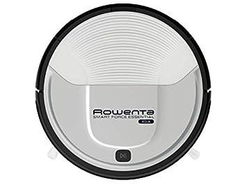 Rowenta Smart Force Essential Aqua RR6976 - Robot aspirador 2 en 1, aspira y friega, con sensores anticaída, bateria ión-litio de 150 minutos de ...