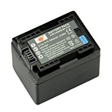 DSTE® BP-727 Fully Decoded Li-ion Battery for Canon CG-700 VIXIA HF R32 HF R40 R42 R50 R52 R300 R400 R500 R600 M50 M52 M500 R30 R62 R66 SLR Cameras as BP-727F BP-718