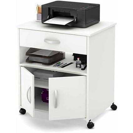 Mueble para carro de impresoras en ruedas, muebles de ...