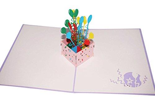 Lovepop Ballon Bouquet Pop Up Card Photo #3