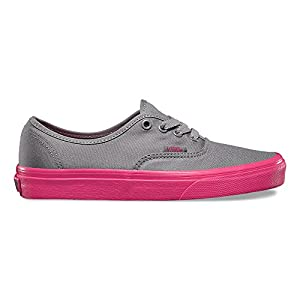 Vans Pop Outsole Authentic Frost Gray/hot Pink Size 6.5