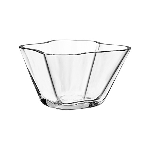 Iittala Alvar Aalto Collection Aalto Glass Bowl 75 mm, Clear