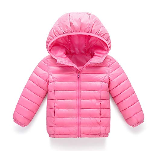 XoiuSyi,Baby Girl Boy Kids Multiple Colour Cotton Jacket Coat Hooded Autumn Winter Warm Children Clothes -