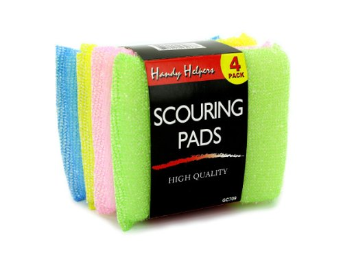 Scouring Pad Set - Pack of 96 by Handy Helpers