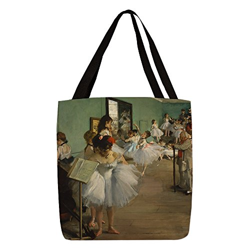CafePress - Degas Dance Class Ballet Dancer - Polyester Tote Bag (Degas Bag Ballet)