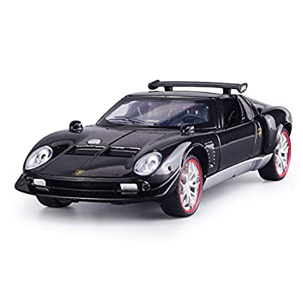 QAQW Simulazione Rambo Sonori per Bambini E Luce Torna agli Ornamenti di Modelli di Auto in Lega Giocattolo in Massa
