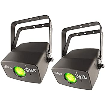 Chauvet Abyss USB DMX-equipped LED Flowing Water Lighting Effect 2-Pack (Compatibility with D-Fi USB and IRC-6 Remote Control)