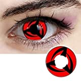 Men Women Multi-Color Colored Cute Charm and Attractive Cosplay Contact Lenses Cosmetic Makeup Eye Shadow (Type 4)