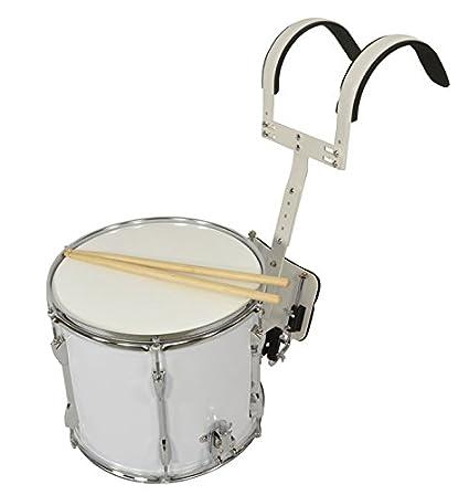 Bryce de tambor con marchas 14 x 30,48 cm: Amazon.es: Instrumentos ...