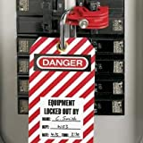 PPE Saftey Equipment / Lockout Tagout No-Tool I-Line C/B Lockout Device Pack of 1 (644-PSL-CBILNT)