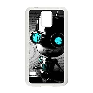 Cute Seated robot Cell Phone Case for Samsung Galaxy S5