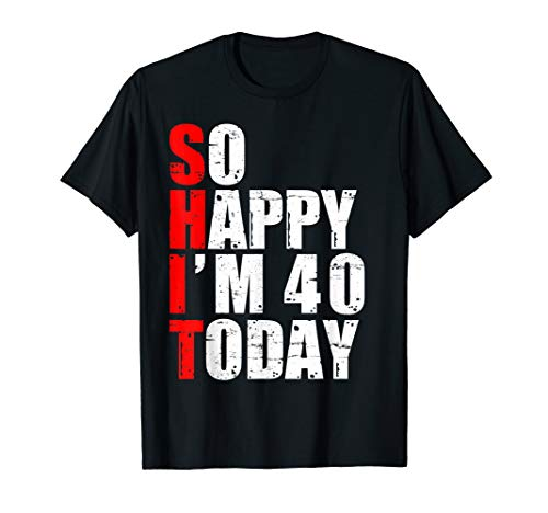 40th Bday Party Ideas For Him (Funny 1979 T-shirt 40 Years Old 40th Birthday Party Gag)