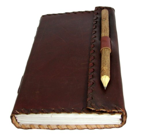 Rugged Leather Journal Parchment Natural product image