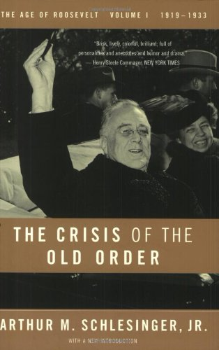 Book cover for The Crisis of the Old Order