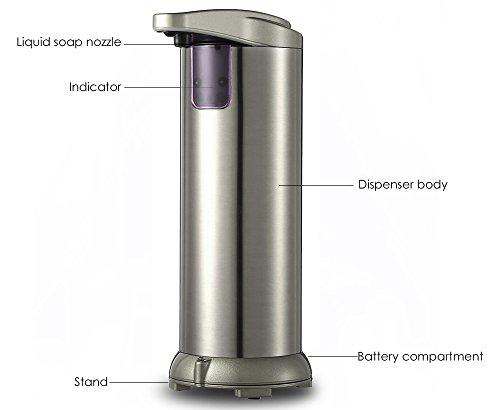 Supmovo Automatic Soap Dispenser Kithchen Bathroom Soap Import It All