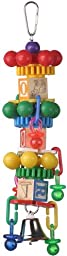 Super Bird Creations 14 by 3-Inch Spin Tower Bird Toy, Large