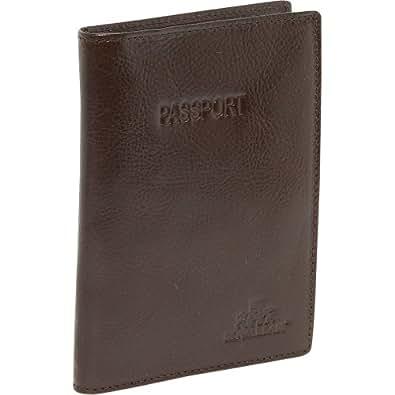 Rowallan Connor Passport Wallet (Brown)