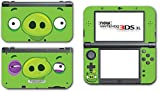 Angry Birds Bad Piggies Space Go Epic Fight Pig Video Game Vinyl Decal Skin Sticker Cover for the New Nintendo 3DS XL LL 2015 System Console